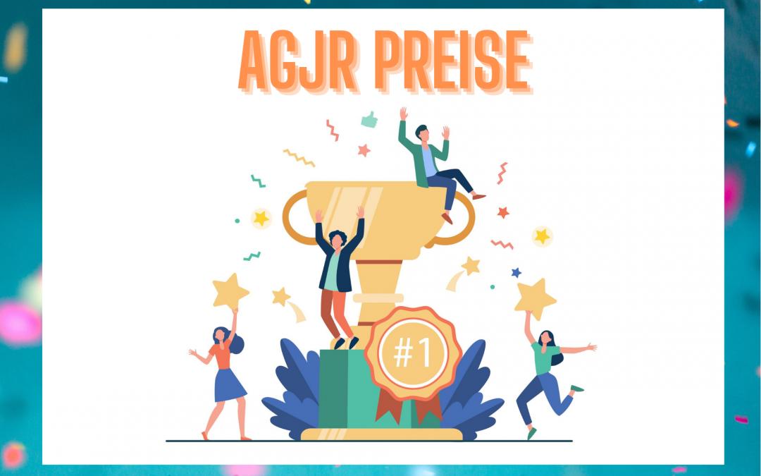 AGJR Wissenschafts- & Lehrpreise